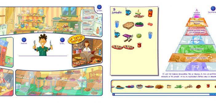 Composition alimentaire d'une journée-type