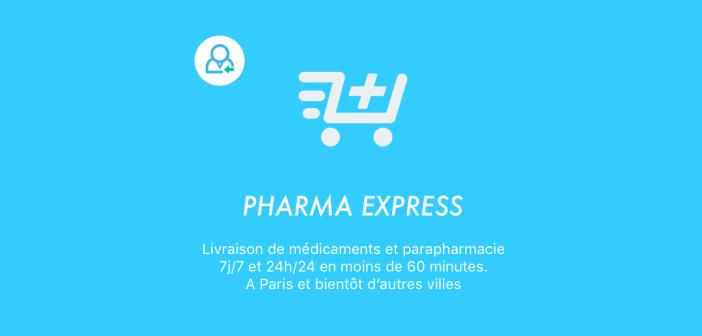 Pharma Express – Une application qui livre des médicaments à domicile en moins d'une heure
