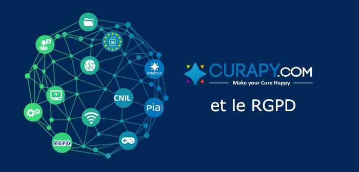 Le Règlement général sur la protection des données et la mise en conformité de la plateforme CURAPY